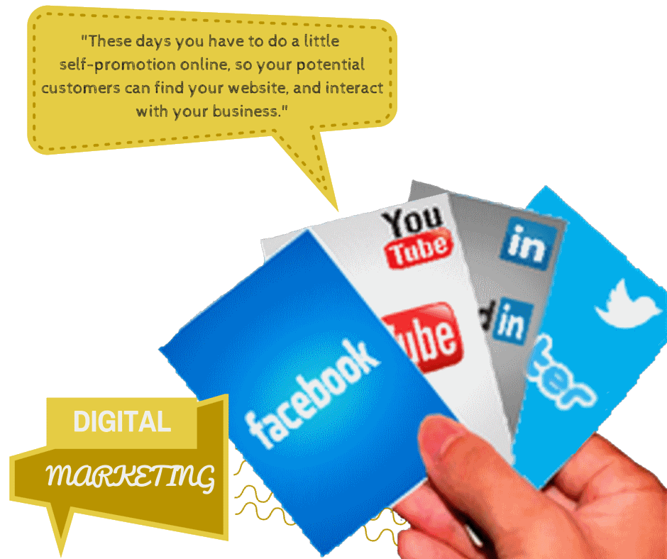 DIGITAL MARKETING | shout about your small business and